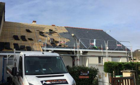 Rénovation toiture ardoise – Couvreur Saumur