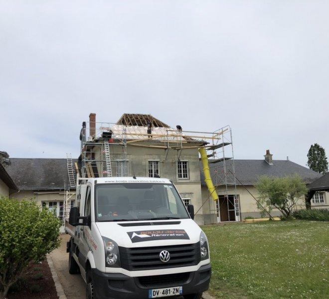 Rénovation batisse Saumur