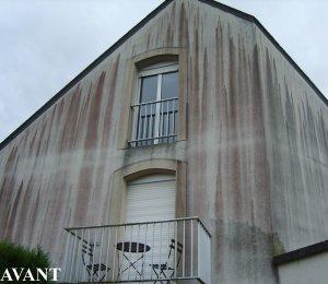 nettoyage façade saumur